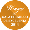 Winner at Gala Premiilor de Excelenta 2014