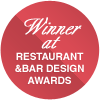 Winner at Restaurant and Bar Design Awards 2015